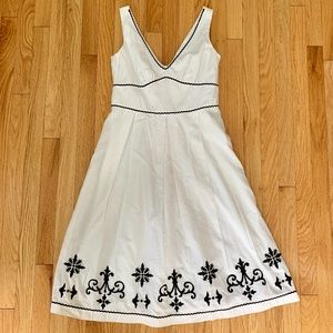 Robbie Bee Embroidered Sundress